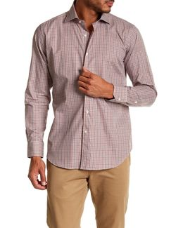 Long Sleeve Checkered Regular Fit Woven Shirt