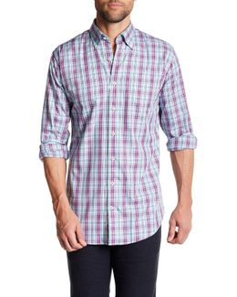 Cape Plaid Dress Shirt