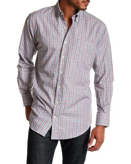 Long Sleeve Print Regular Fit Woven Shirt