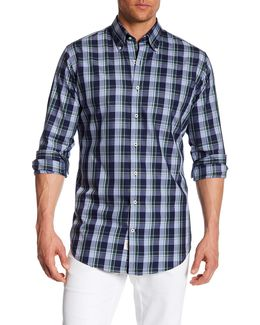 Autumn Plaid Sport Shirt