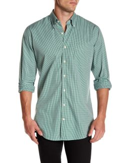 Crown Finish Gingham Regular Fit Shirt