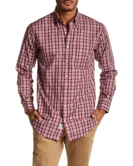 Saratoga Plaid Chest Pocket Regular Fit Woven Shirt