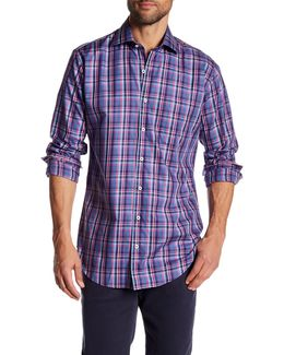 Madison Plaid Long Sleeve Shirt