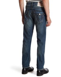 Flap Pocket Skinny Jean