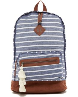 Chance Chambray Oversized Backpack