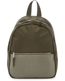 Nylon & Mesh Backpack