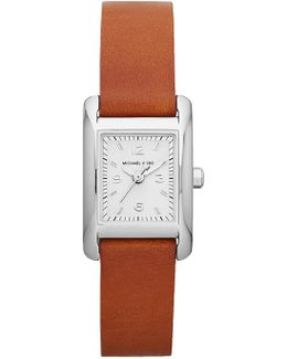 Women's Mini Taylor Leather Strap Watch