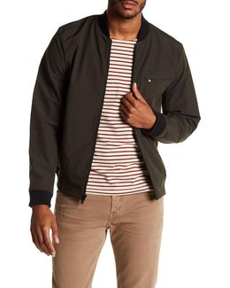 Bath Soft Shell Bomber Jacket