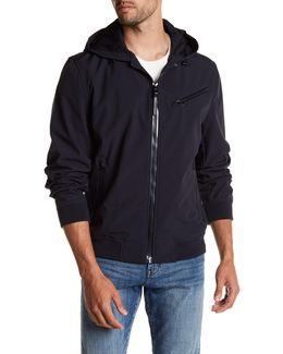 Benton Hooded Soft Shell Jacket