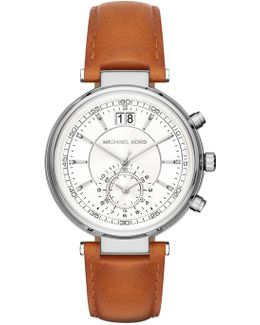 Women's Sawyer Leather Strap Watch