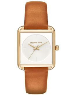 Women's Lake Leather Strap Watch
