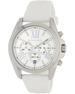 Women's Bradshaw Chronograph Silicone Strap Watch