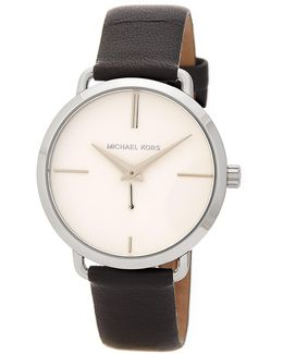 Women's Portia Leather Strap Watch