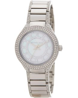 Women's Mini Kerry Crystal Accented Bracelet Watch