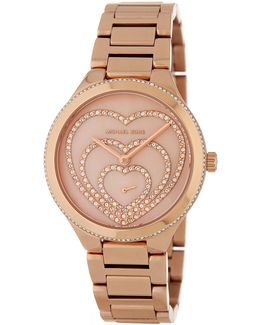 Women's Lainey Crystal Pave Bracelet Watch