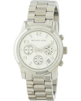 Women's Silver Catwalk Chronograph Watch