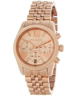 Women's Lexington Rose Gold Tone Stainless Steel Watch