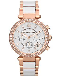 Women's Parker Crystal Chronograph Watch
