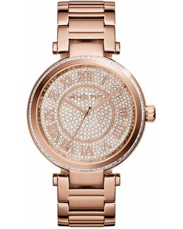 Michael Kors 'skylar' Pav Dial Bracelet Watch, 42mm