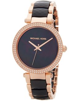 Women's Parker Crystal Accented Bracelet Watch