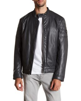Alcalde Faux Leather Jacket