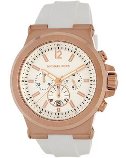 Men's Dylan Chronograph Leather Strap Watch