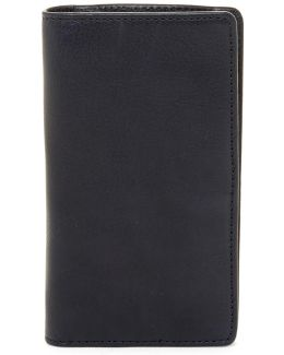 Leather Wallet With Rechargeable Battery