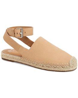 Nuri Ankle Strap Espadrille Flat (women)