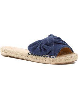 Valey Denim Slip-on Sandal