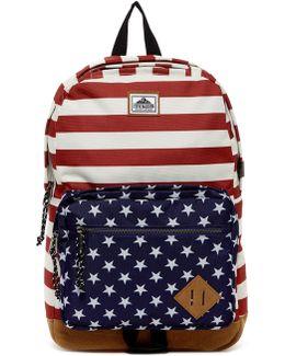 Americana Print Classic Backpack