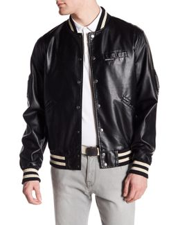 Bleeker Varsity Jacket