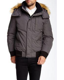 Bristol Faux Fur Trimmed Down Jacket