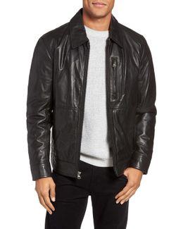 Hanover Leather Shirt Jacket