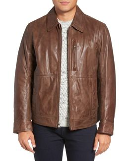 By Andrew Marc Plymouth Lightweight Leather Jacket
