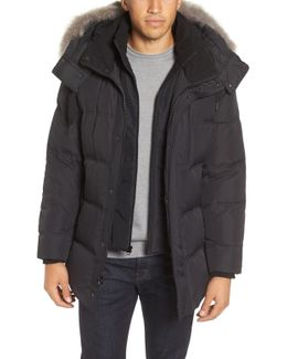 Winslow 3-in-1 Parka With Genuine Coyote Fur Trim Hood