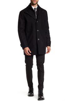 Strafford Wool Blend Coat