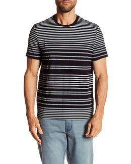 Striped Crew Neck Tee