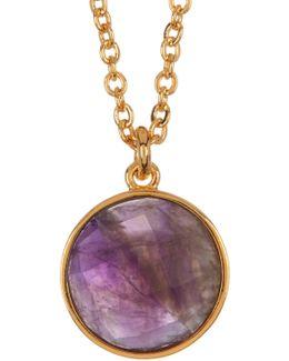 Hunter Amethyst Pendant Necklace