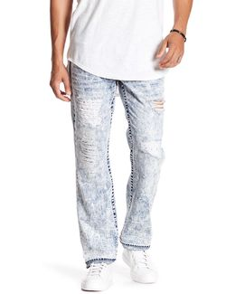 Red Series Straight Leg Jeans