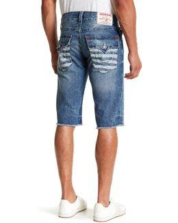 Flap Pocket Fading Short