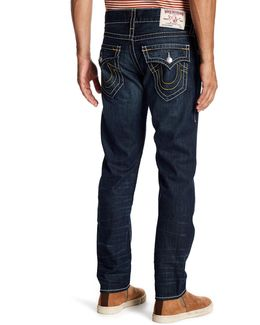 Flap Pocket Slim Jeans