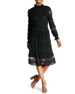 Carlene Lace Turtleneck Dress