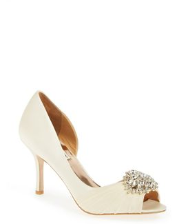 Pearson Embellished D'orsay Pump - Wide Width Available