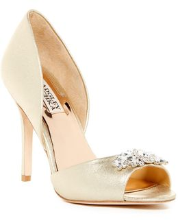 Sugar Embellished Pump - Wide Width Available