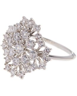 Bouquet Cz Ring - Size 6
