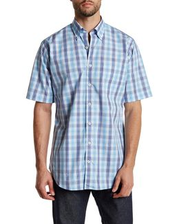 Nantucket Pane Regular Fit Short Sleeve Shirt