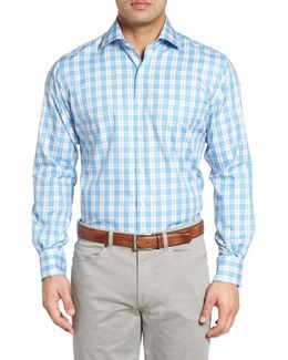 Island Plaid Sport Shirt