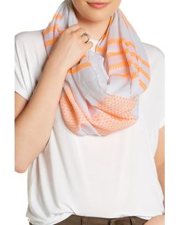 Ocean Stripe Eternity Scarf