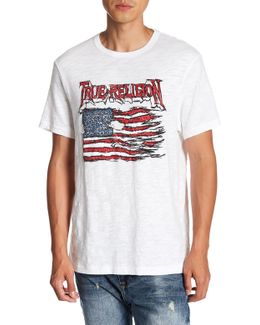 Land Of The Free Graphic Short Sleeve Tee