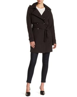 Taylor Detachable Hood Trench Coat